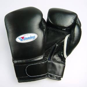 Winning boxing gloves velcro