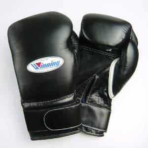 Winning boxing gloves velcro