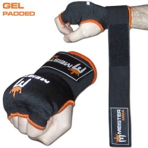4 Meister Gel Padded Pro Wrap Gloves
